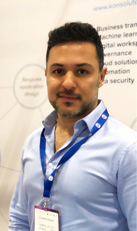 Ashkan Jabbari Director and co-founder at Konsolute