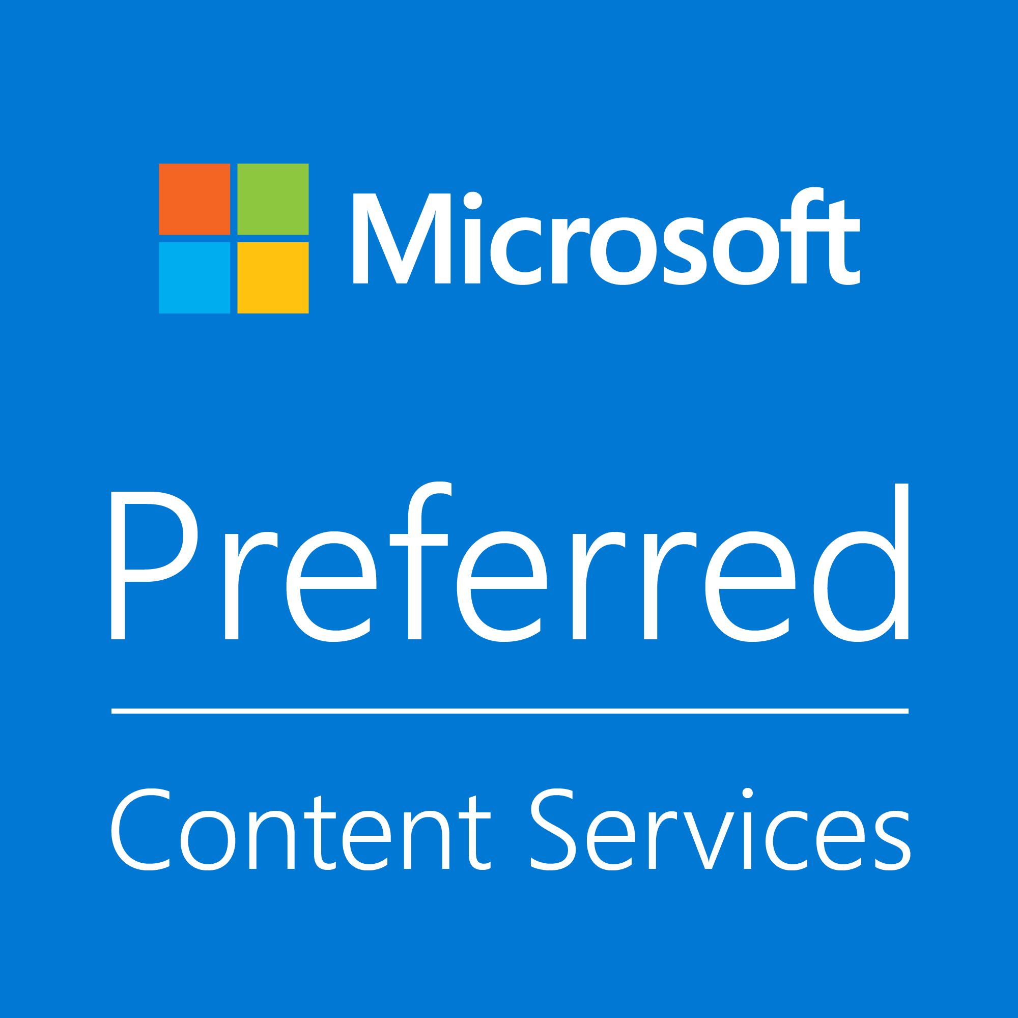 Microsoft Project Cortex Content Services Preferred Partner