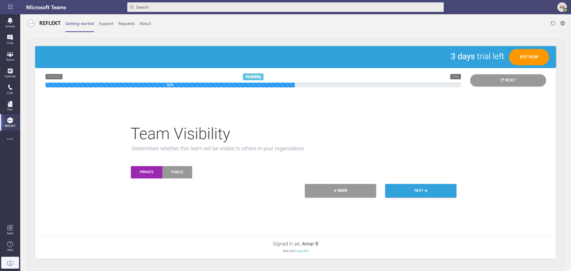 Team Visibility